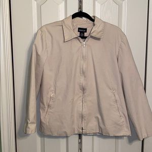 Leslie Fay ZIP jacket cream